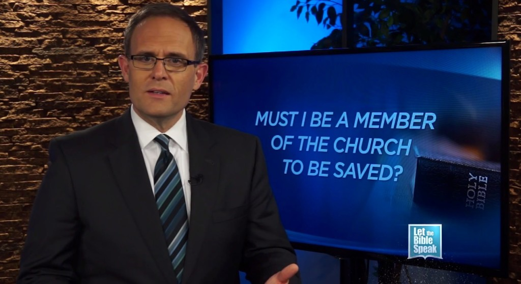 Must I Be A Member Of The Church To Be Saved?