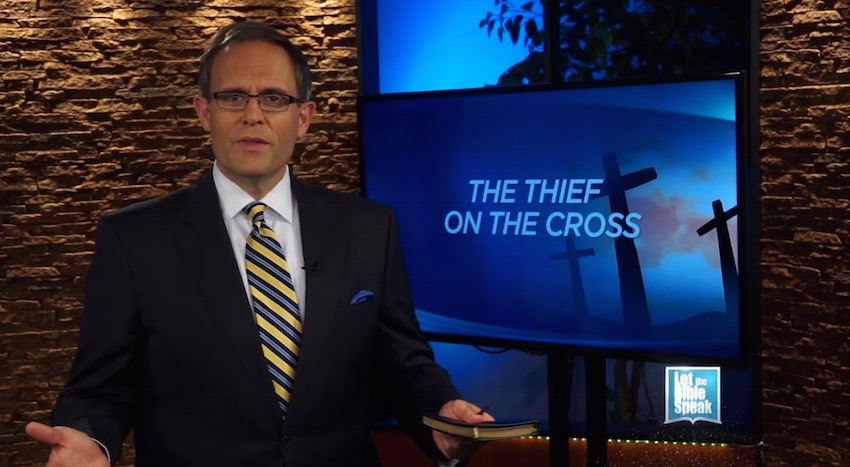 The Thief On The Cross (The Text)