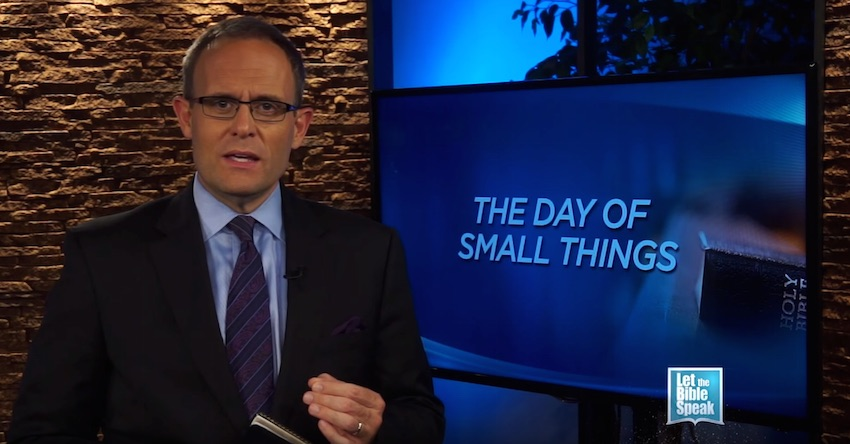 The Day Of Small Things (The Text)