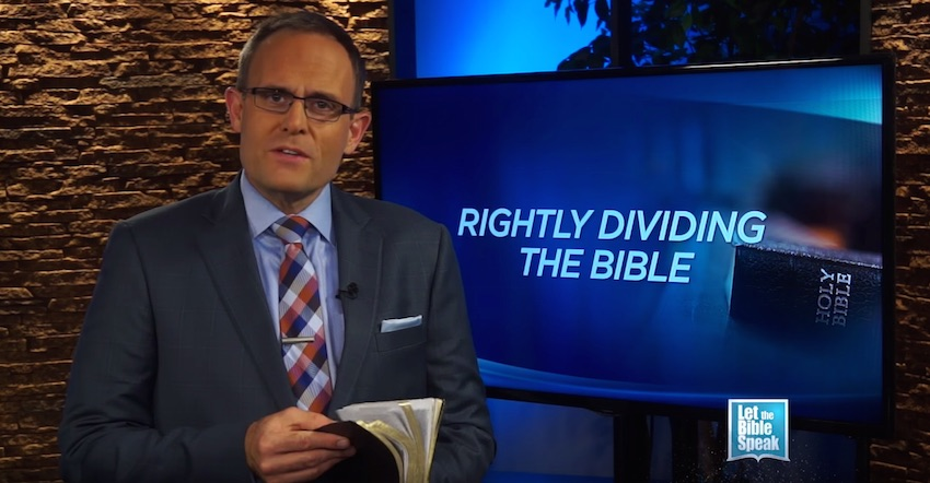 Rightly Dividing The Bible – Part 1 (The Text)