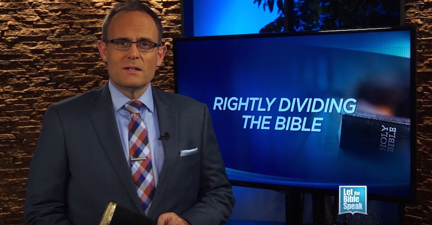 Rightly Dividing The Bible – Part 1