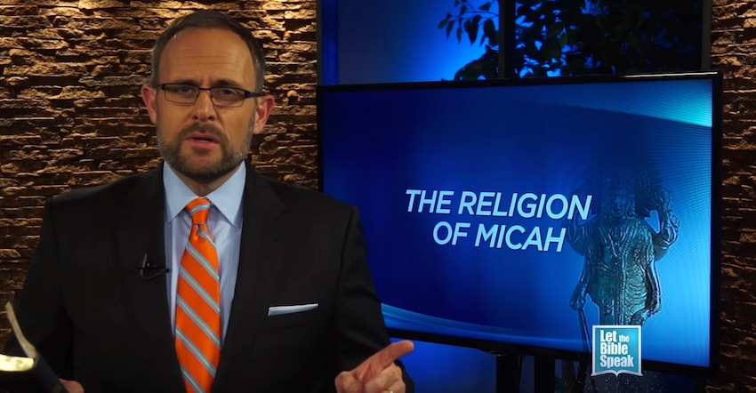 The Religion Of Micah