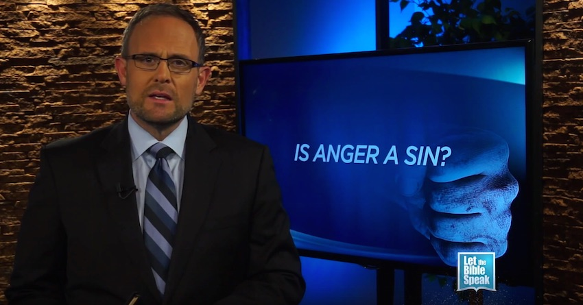 Is Anger A Sin? (The Text)