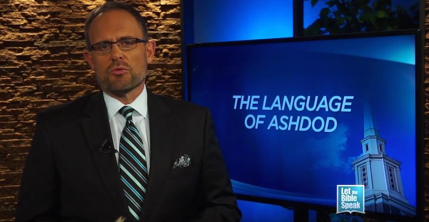 The Language Of Ashdod