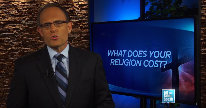 What Does Your Religion Cost?