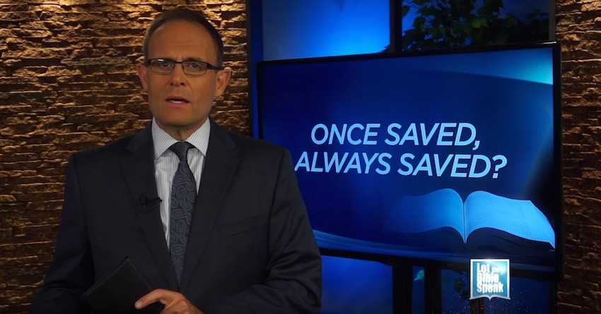 Once Saved, Always Saved? (The Text)