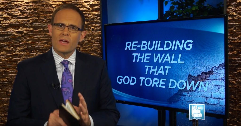 Re-Building The Wall That God Tore Down (The Text)