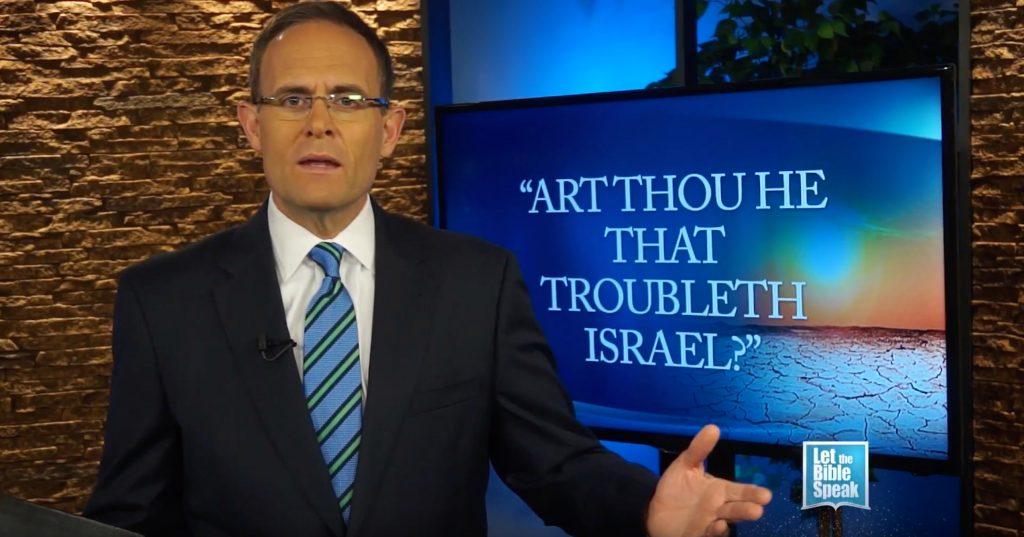 Art Thou He That Troubleth Israel?