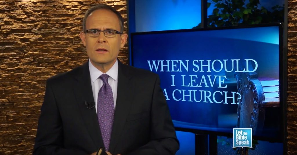 When Should I Leave A Church? (The Text)