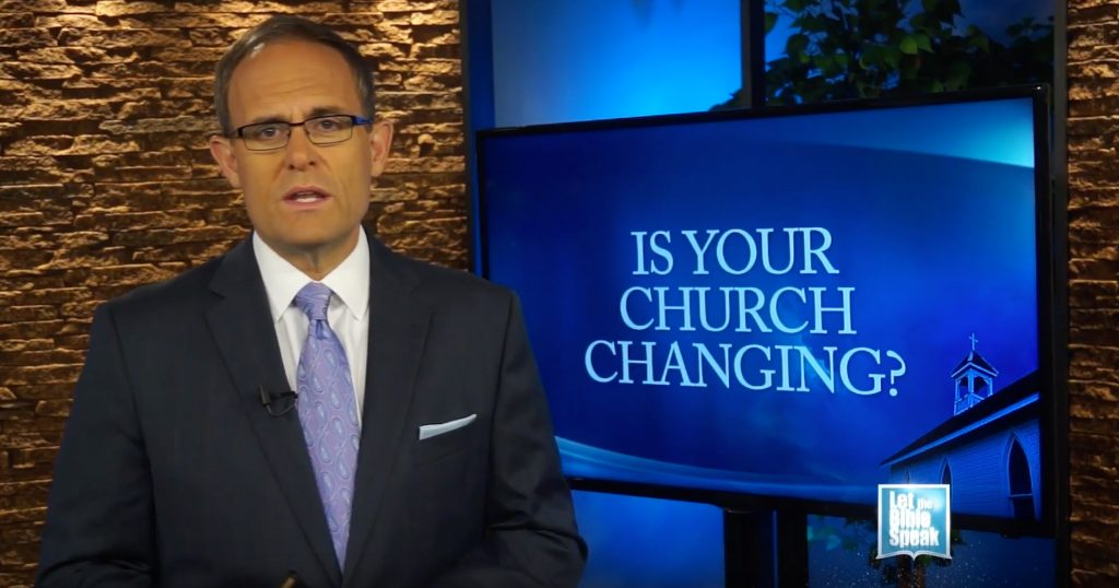 Is Your Church Changing? (The Text)