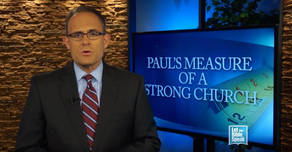 Paul's Measure Of A Strong Church (The Text)