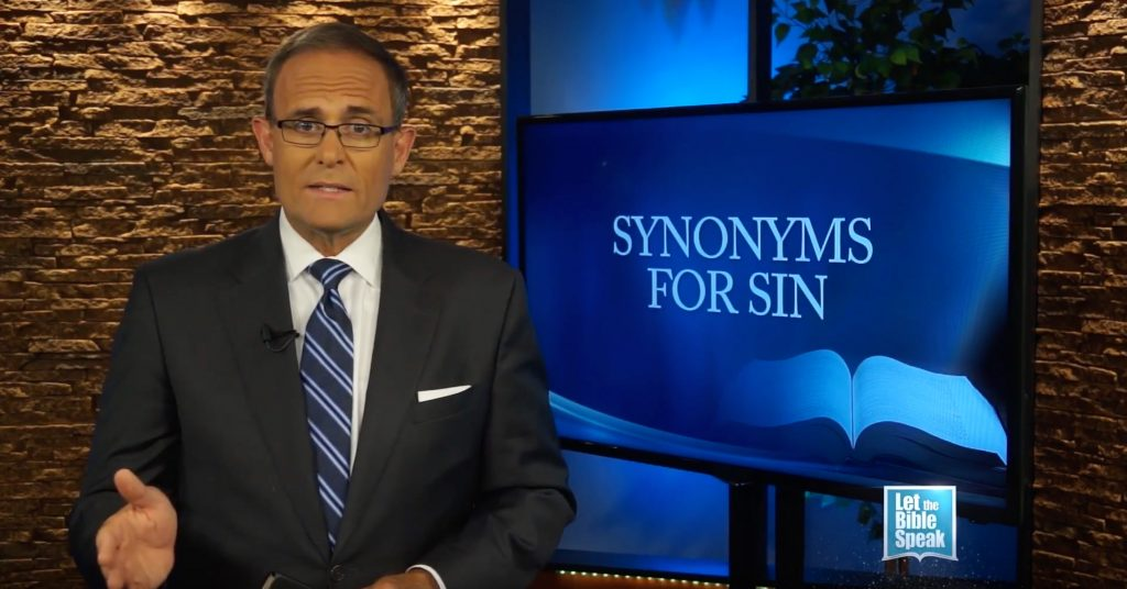Synonyms For Sin – Part 2
