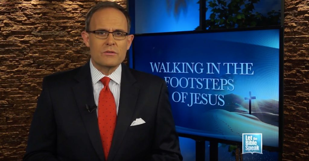 Walking In The Footsteps Of Jesus (The Text)
