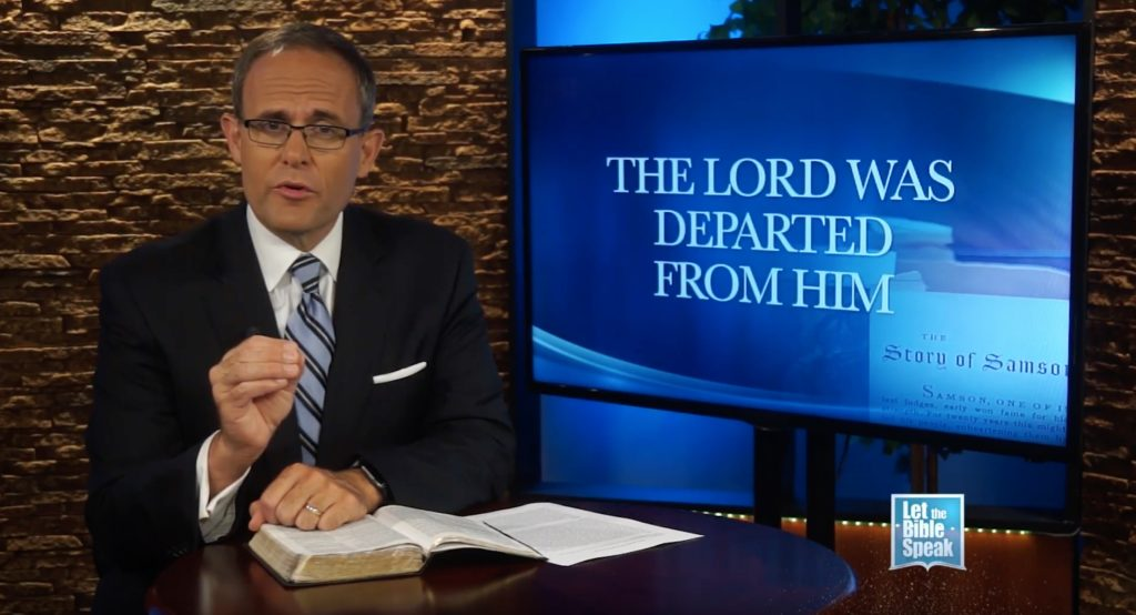 The Lord Was Departed From Him (The Text)