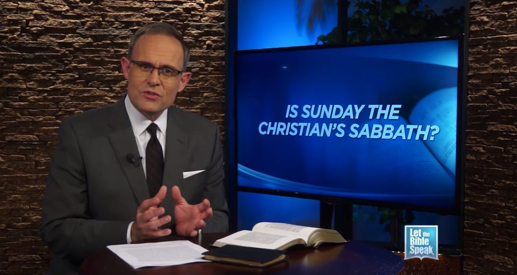 Is Sunday The Christian's Sabbath?