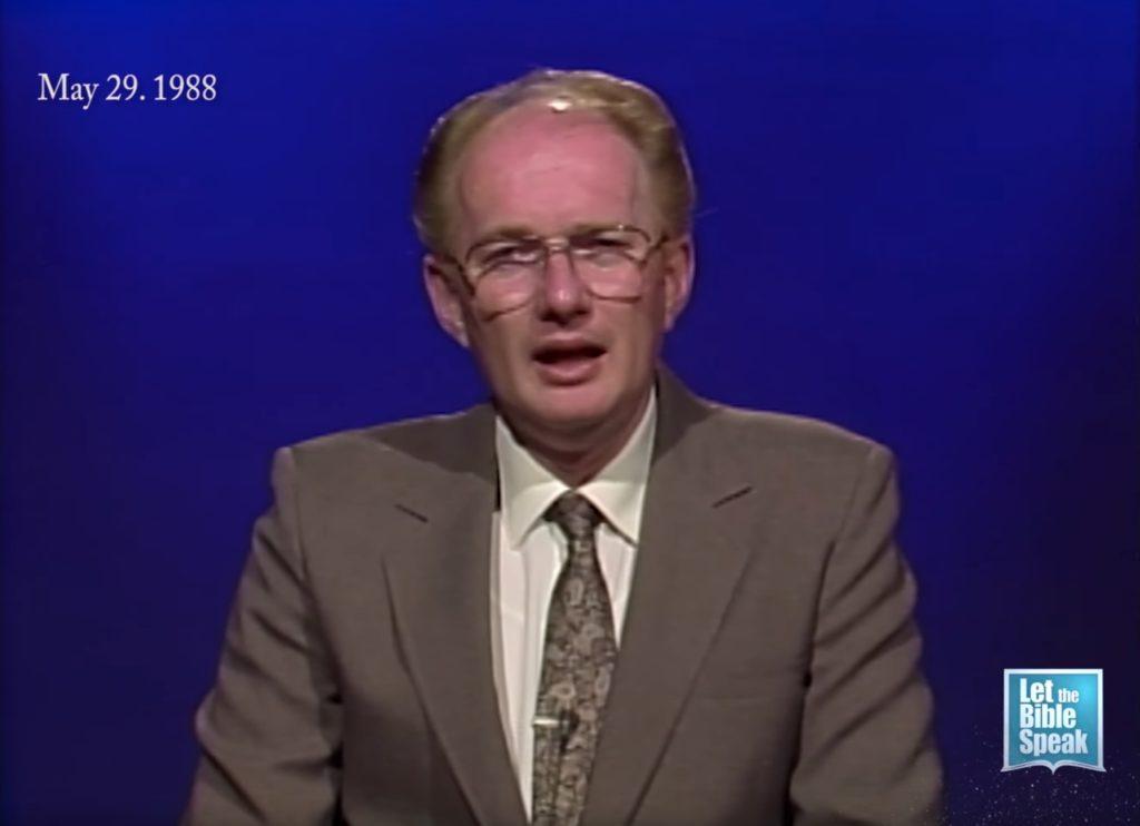 Irvin Barnes On Social Drinking (1988)