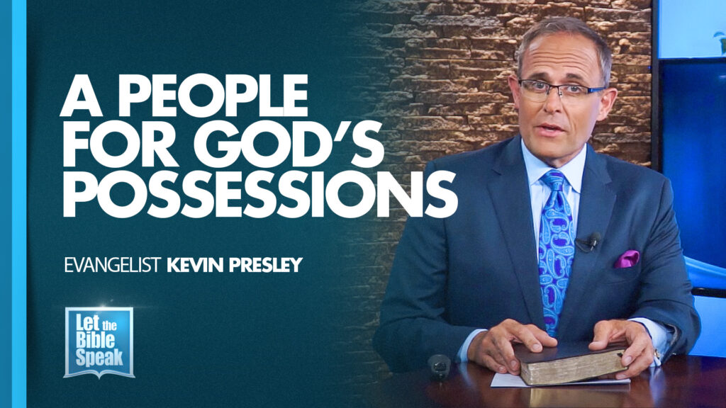 A People For God's Possession