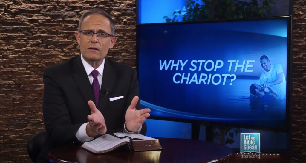 Why Stop The Chariot? (Jesus Saves Series – Sermon 4)